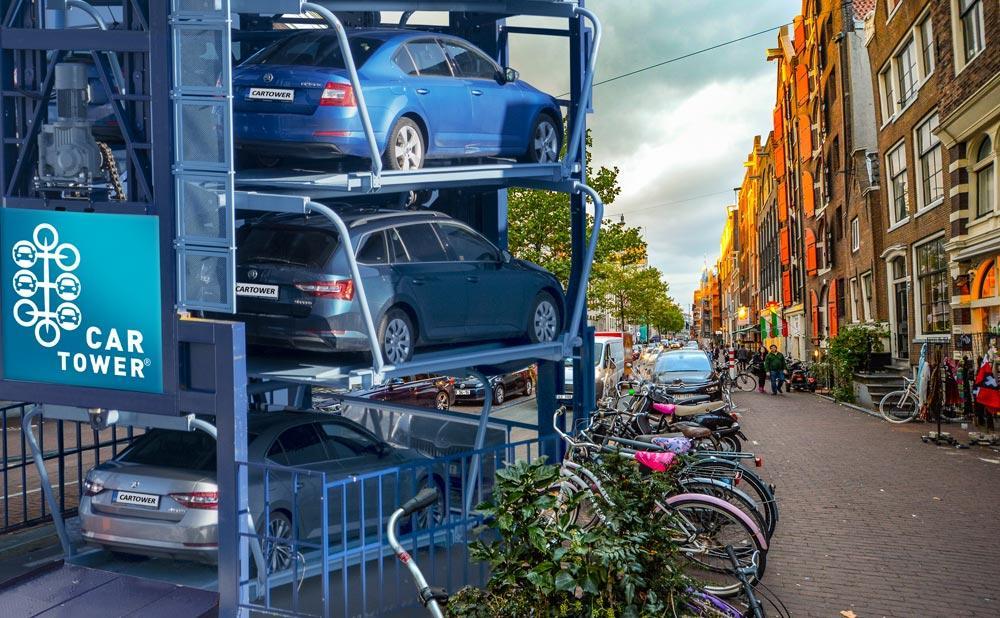 propracovany system efektivniho parkovani